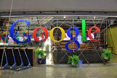 Hulajnogi w biurze Google w Sydney