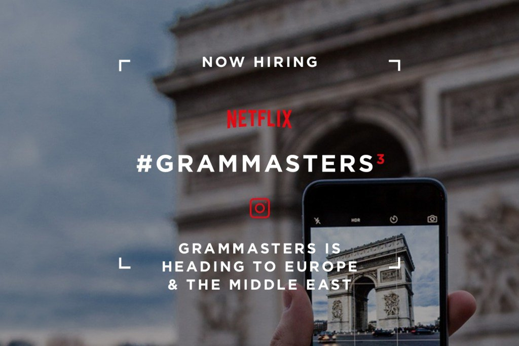 Netflix #grammaster poszukiwany