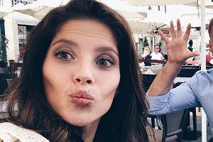 Weronika Rosati na planie 'M jak Miłość'