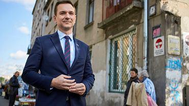 Wybory samorządowe 2018 w Łodzi. Eurodeputowany Jacek Saryusz-Wolski poparł kandydaturę Waldemara Budy (PiS)