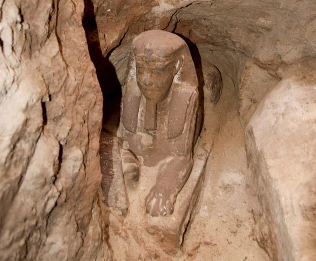 Sfinks w świątyni Kom Ombo