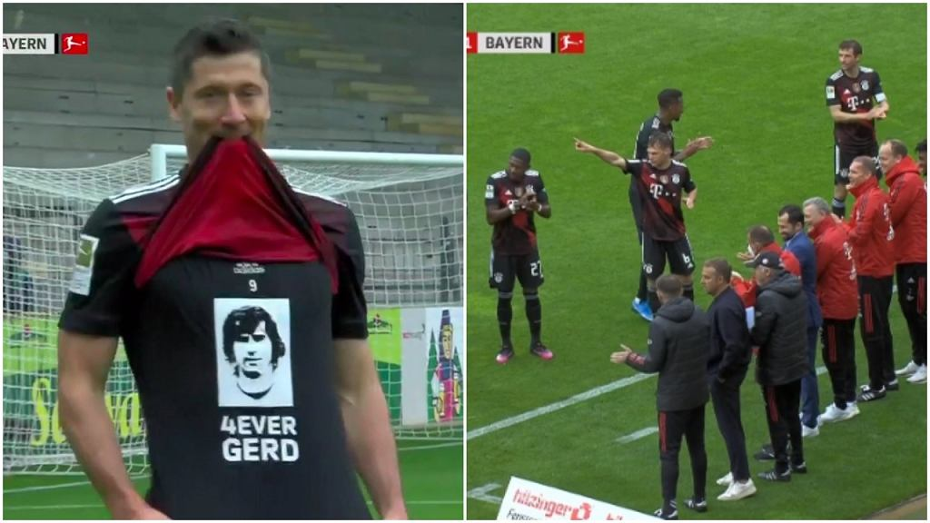 Robert Lewandowski wyrównał rekord Gerda Muellera