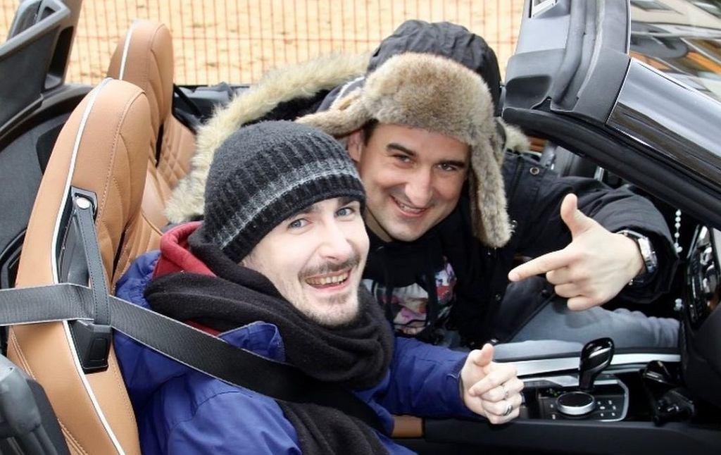 Michał Koterski na planie programu 'To tylko kilka dni' zaopiekował się niepełnosprawnym Mateuszem