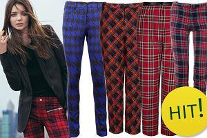 HIT: spodnie w kratkę