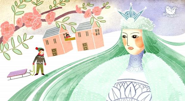 """Królowa śniegu"" Hans Christian Andersen (audiobook)"