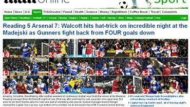 Screen z dziennika 'Daily Mail'