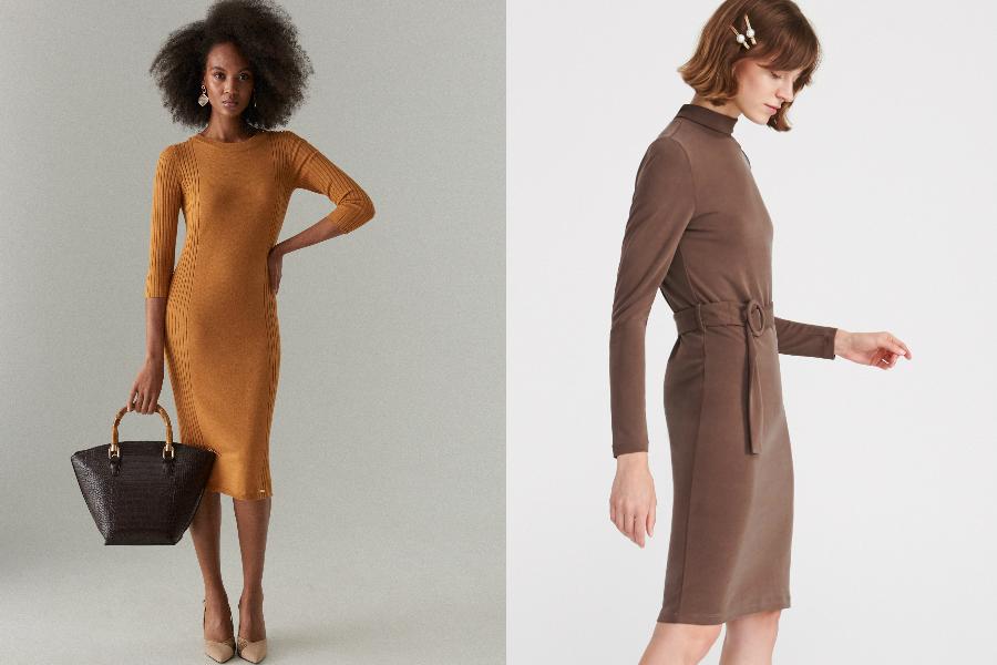 dopasowane sukienki do pracy