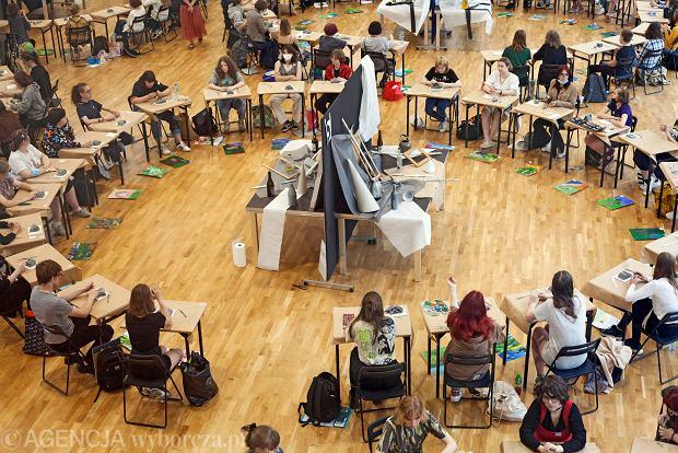 Zdjęcie numer 11 w galerii - W Gdyni odbyły się egzaminy wstępne do Liceum Sztuk Plastycznych [ZDJĘCIA]