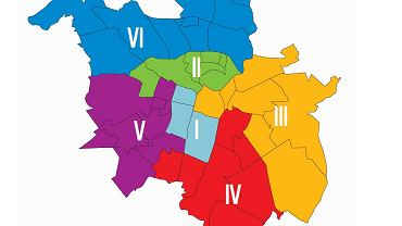 Nowe okręgi wyborcze w Poznaniu - projekt