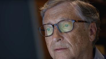 kadr z filmu 'W głowie Billa Gatesa'