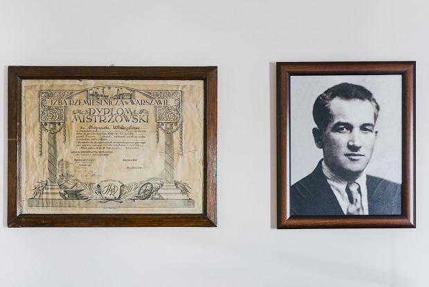 Władysław Koperski, dziadek Wiktora, i jego dyplom mistrzowski. To on założył firmę Koperski w 1937 roku w Mszczonowie. Działa od 81 lat.