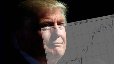 Donald Trump; kurs USD/PLN