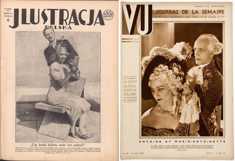 Cierplikowski czesał m.in. Josephine Baker (z lewej) (mat. prasowe)
