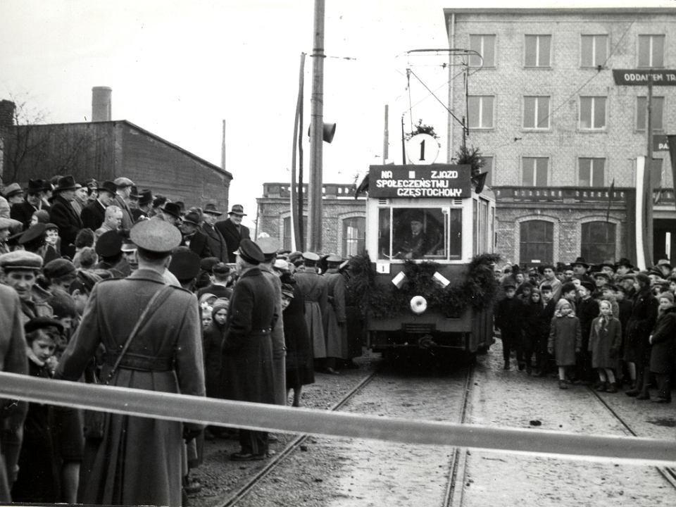 8 marca 1959 r. Otwarcie linii tramwajowej