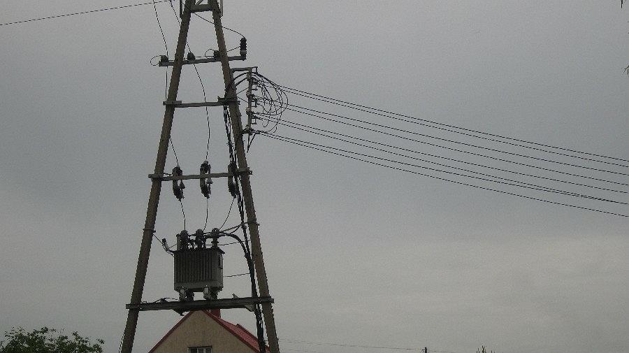 prąd, energia elektryczna, linie wysokiego napięcia
