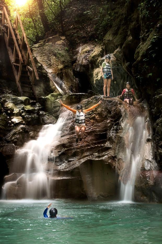 Wodospady Damajagua
