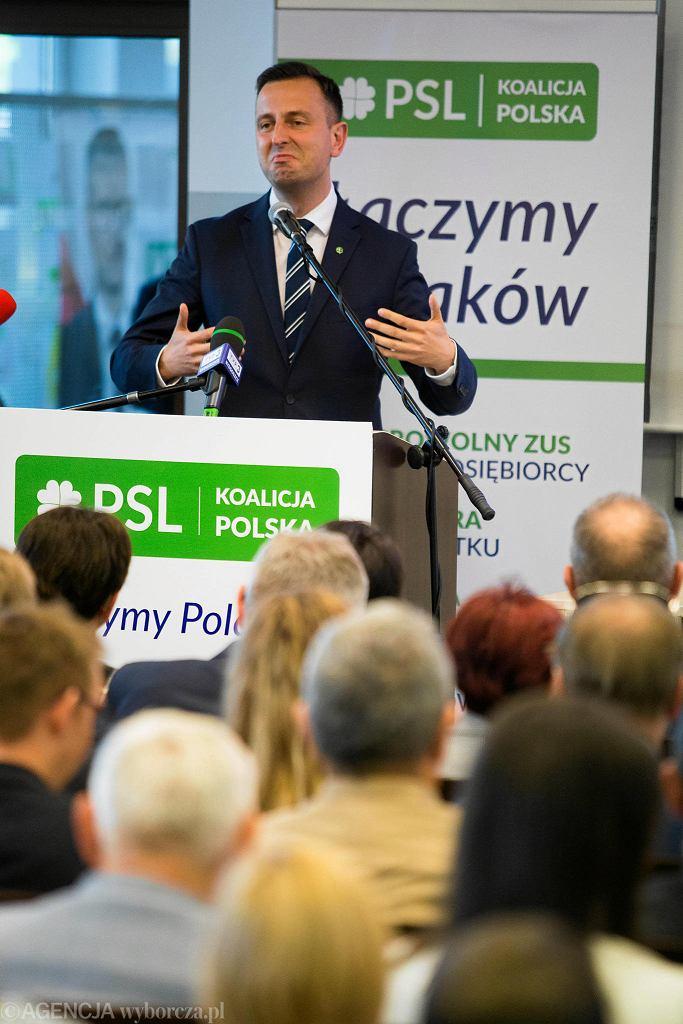 Wybory parlamentarne 2019. Konwencja PSL w Bydgoszczy, a na niej Władysław Kosieniak-Kamysz i Paweł Kukiz
