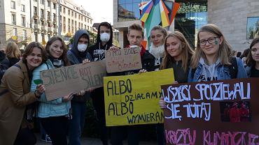 Młodzieżowy Strajk Klimatyczny we Wrocławiu (20.09.2019)