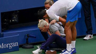 US Open. Novak Djoković zdyskwalifikowany po trafieniu w sędzię