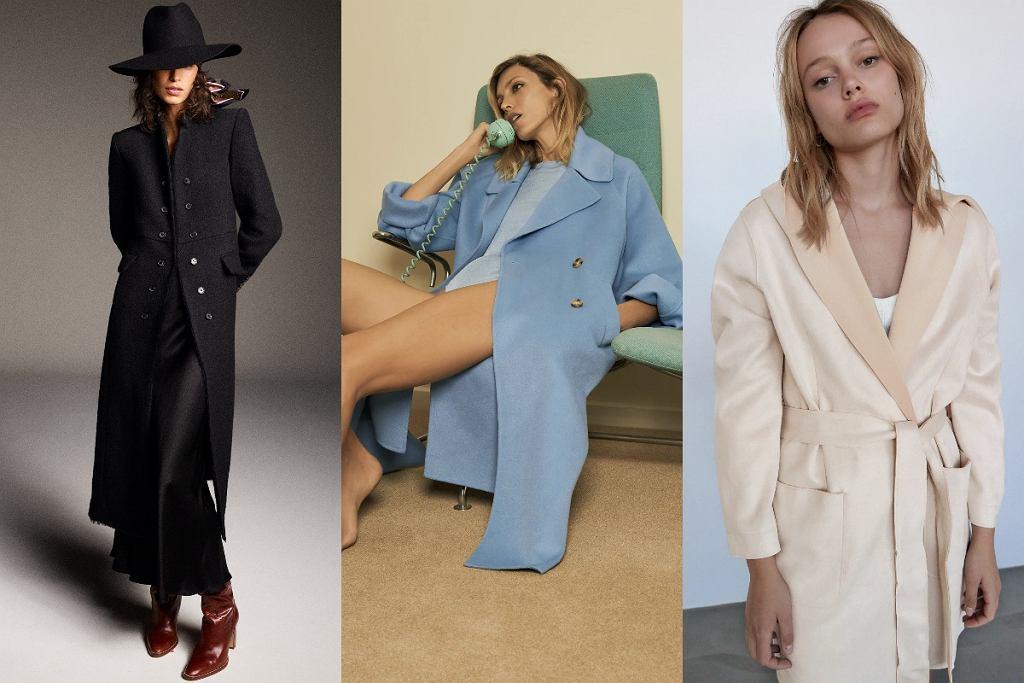 Płaszcze Zara na jesień 2020
