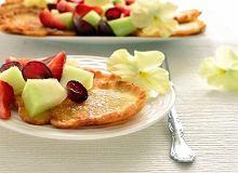 Placuszki z sałatką owocową - ugotuj