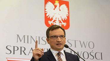 Minister sprawiedliwości w rządzie PiS Zbigniew Ziobro