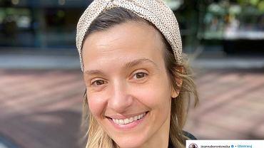 Joanna Koroniewska w modnej kurtce na jesień 2020