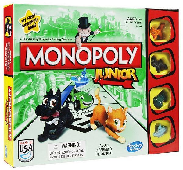 Monopoly Junior - klasyka w wersji dla najmłodszych