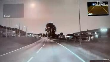 Meteor nad Norwegią
