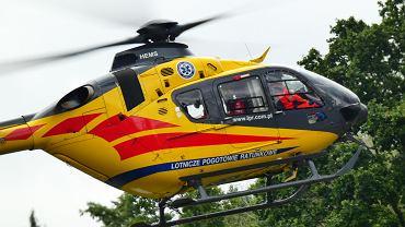 Śmigłowiec Lotniczego Pogotowia Ratunkowego (zdjęcie ilustracyjne)