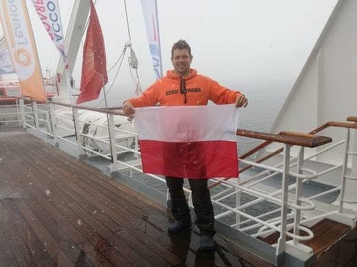 Zdjęcie numer 1 w galerii - Nieprawdopodobny wyczyn polskiego pływaka.