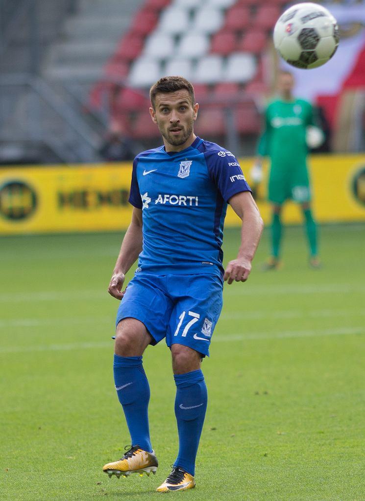 FC Utrecht - Lech Poznań 0:0. Maciej Makuszewski