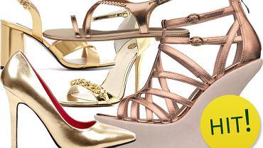 Złote buty - kicz czy nie?