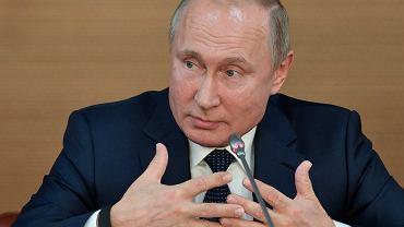 Prezydent Rosji Władimir Putin (zdjęcie ilustracyjne)