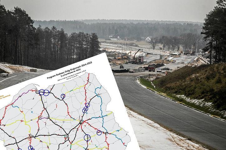 GDDKiA planuje oddać w 2018 roku ponad 350 km nowych dróg