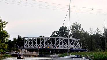 Miejsce tragicznego zdarzenia na rzece Pisa w Piszu