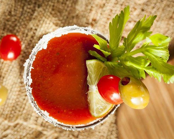 Krwawa Mary - drink bezalkoholowy