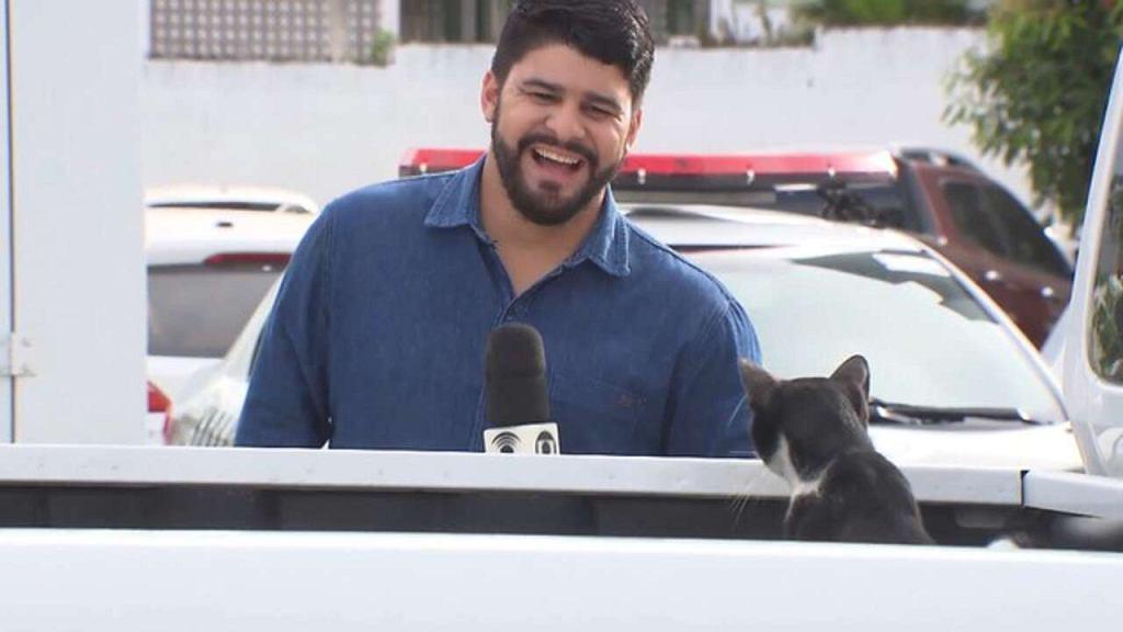 Kot gościem na antenie