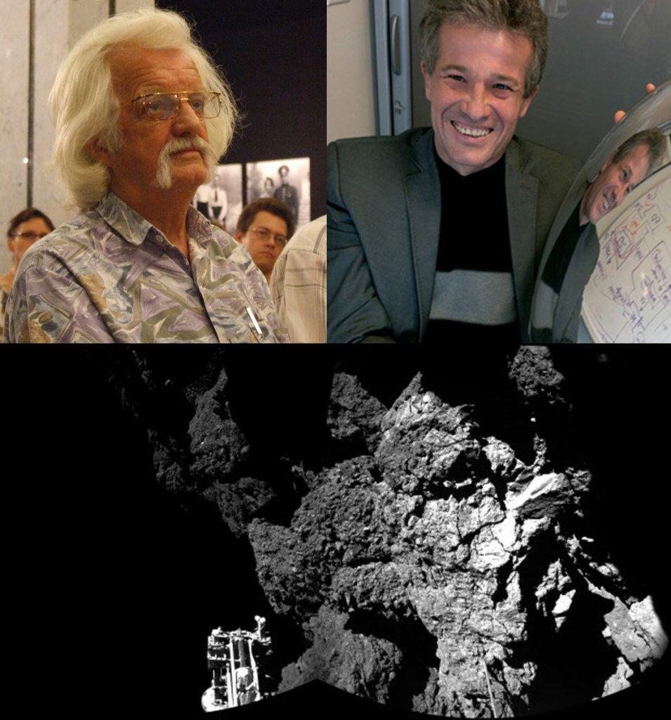 Ojciec, syn i lądownik na komecie