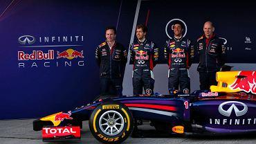 Prezentacja bolidu Red Bulla