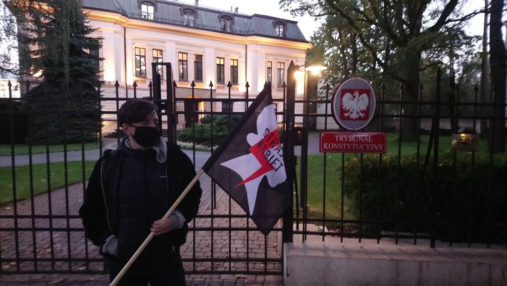 Klementyna Suchanow. Protest Ostra jazda. Warszawa