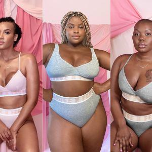 Czarne kobiety, które pokonały raka piersi bohaterkami najnowszej kampanii bielizny Rihanny