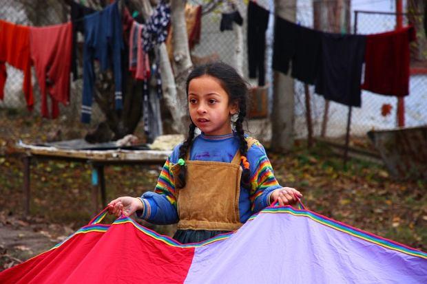 Romska dziewczynka