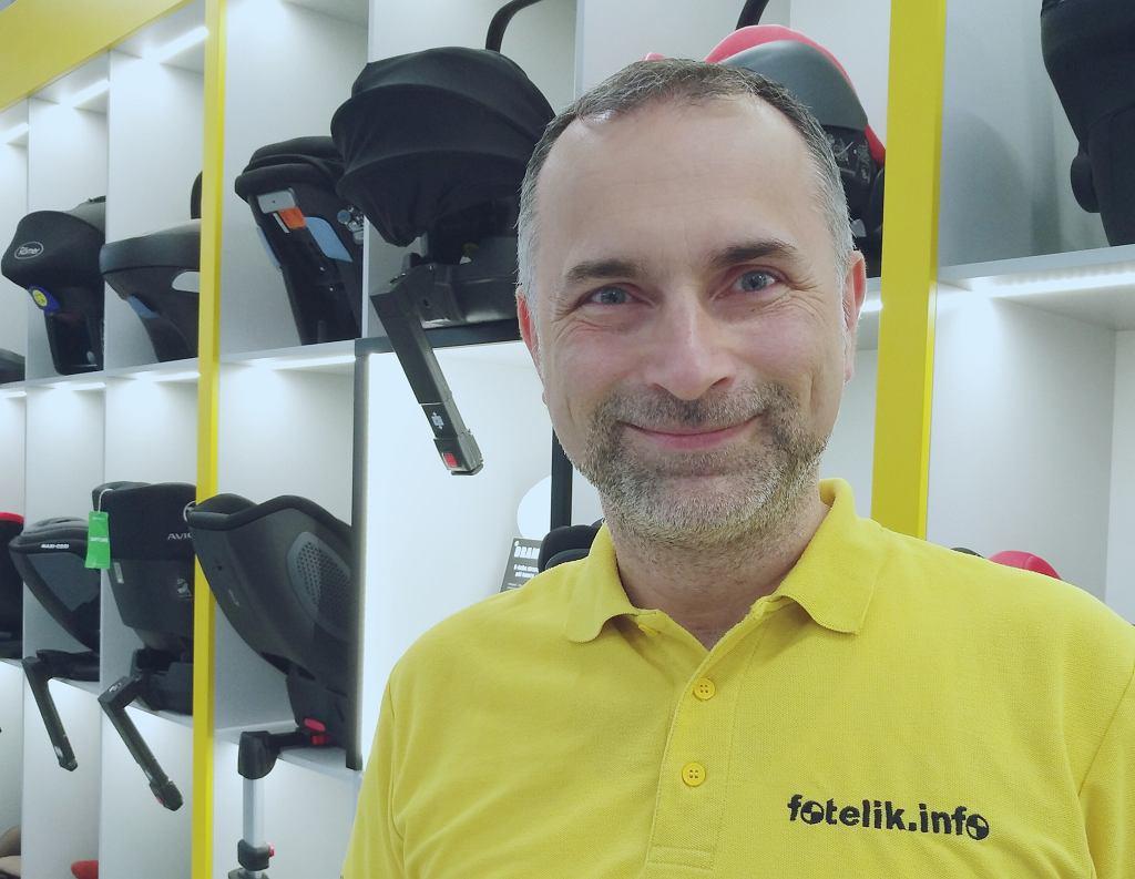 Paweł Kurpiewski - ekspert ds. bezpieczeństwa dzieci na drodze