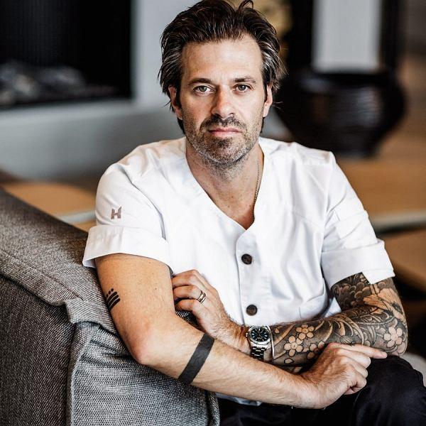 Holenderski kucharz Sergio Herman, szef kuchni gwiazdkowej restauracji The Jane w Antwerpii