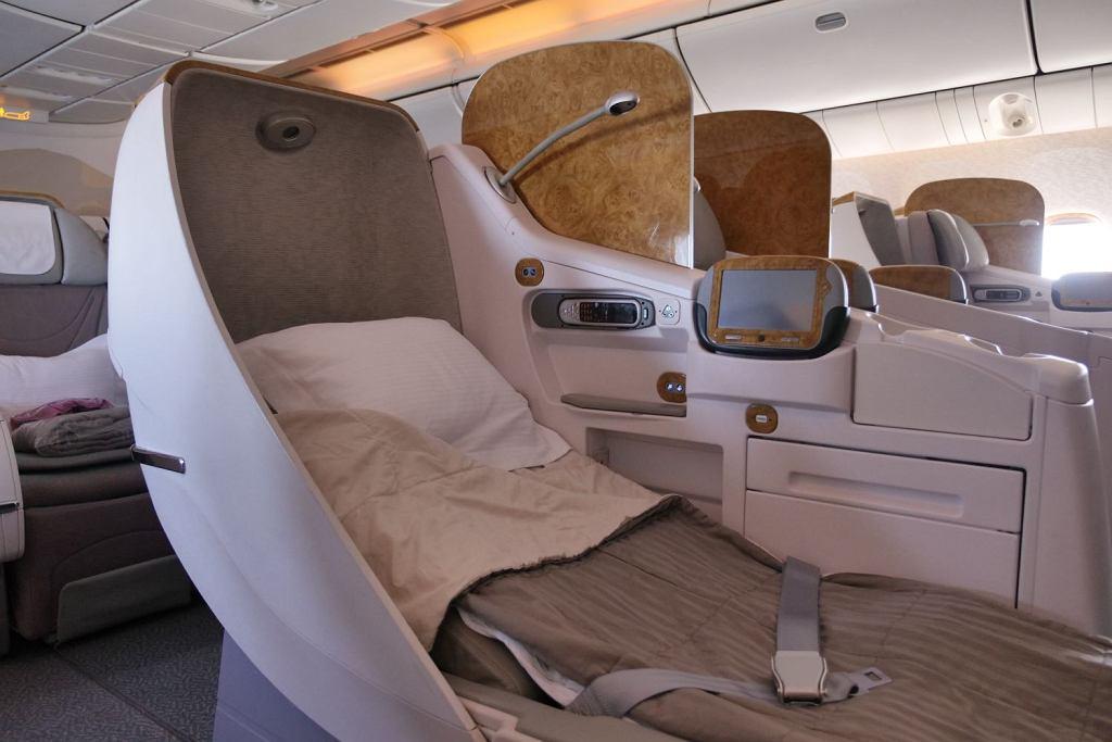 Klasa biznes w Emirates