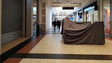 Puste centrum handlowe Magnolia we Wrocławiu