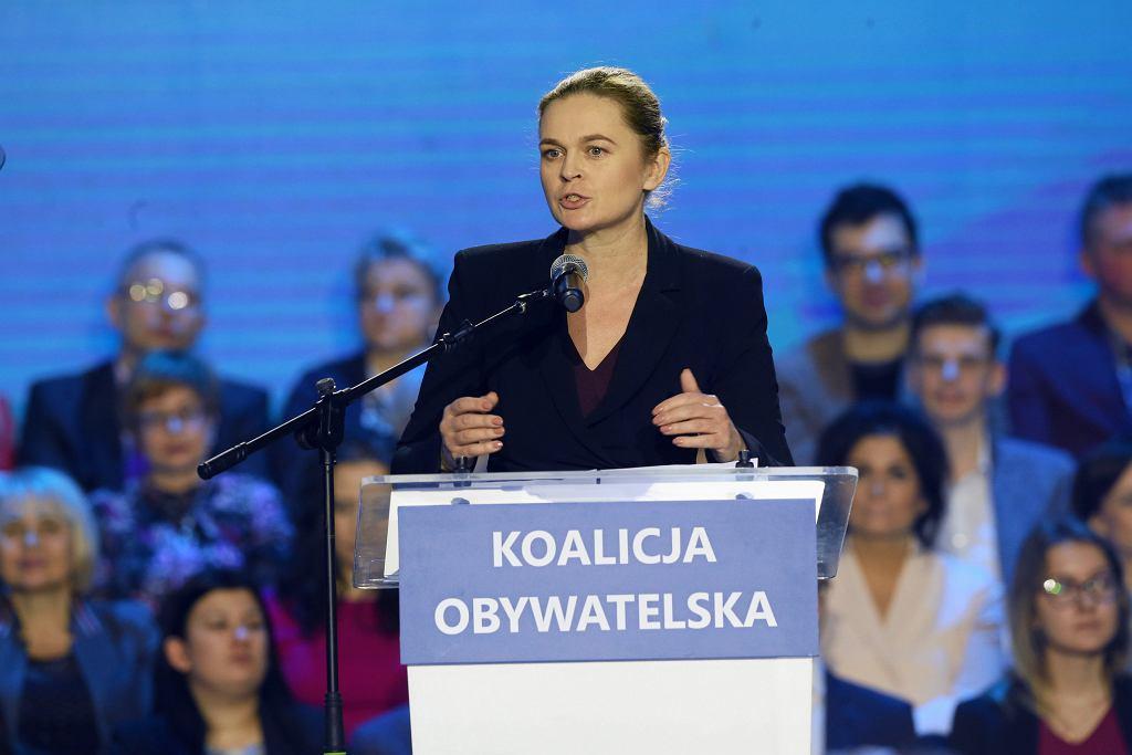 Barbara Nowacka na konwencji 'Kobieta, Polska, Europa'