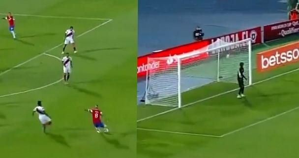 Niezwykły gol Arturo Vidala w meczu z Peru