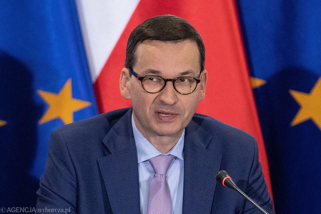Premier Mateusz Morawiecki, 10 maja 2019 r.